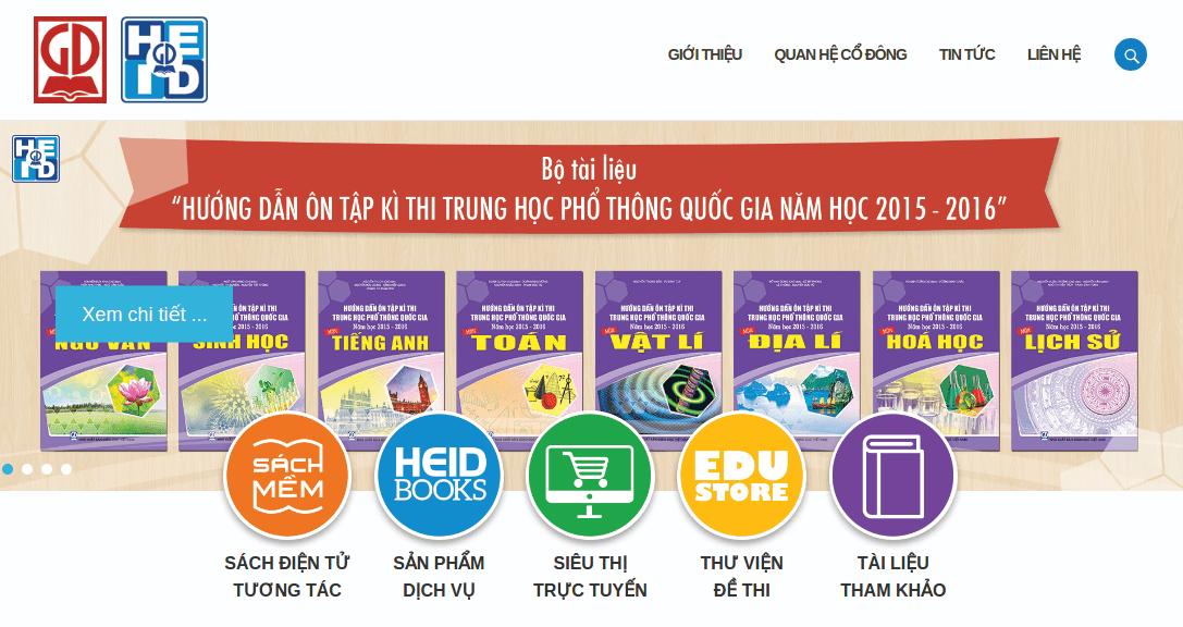 Trang web công ty HEID