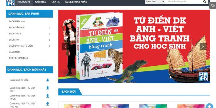 Trang web giới thiệu sản phẩm
